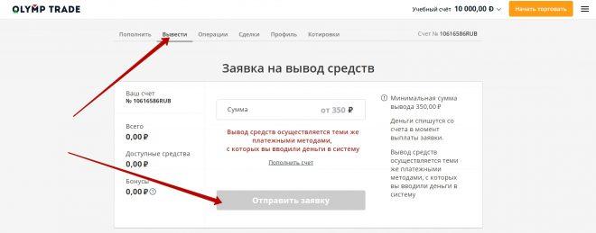 олимп трейд регистрация с бонусом