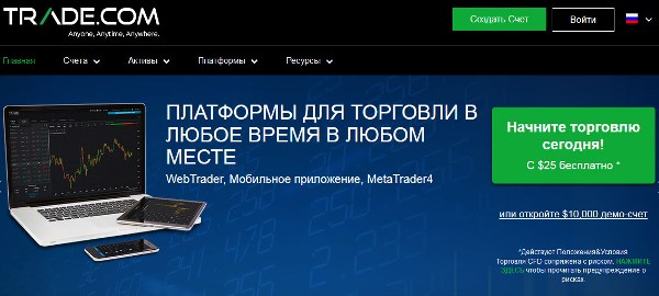 Сайт платформы