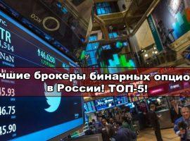 Лучшие брокеры бинарных опционов 2018 года в России