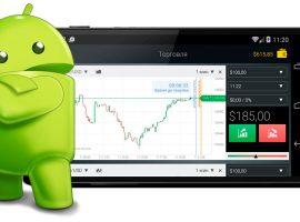 Обзор брокеров с приложениями для бинарных опционов на Андроид